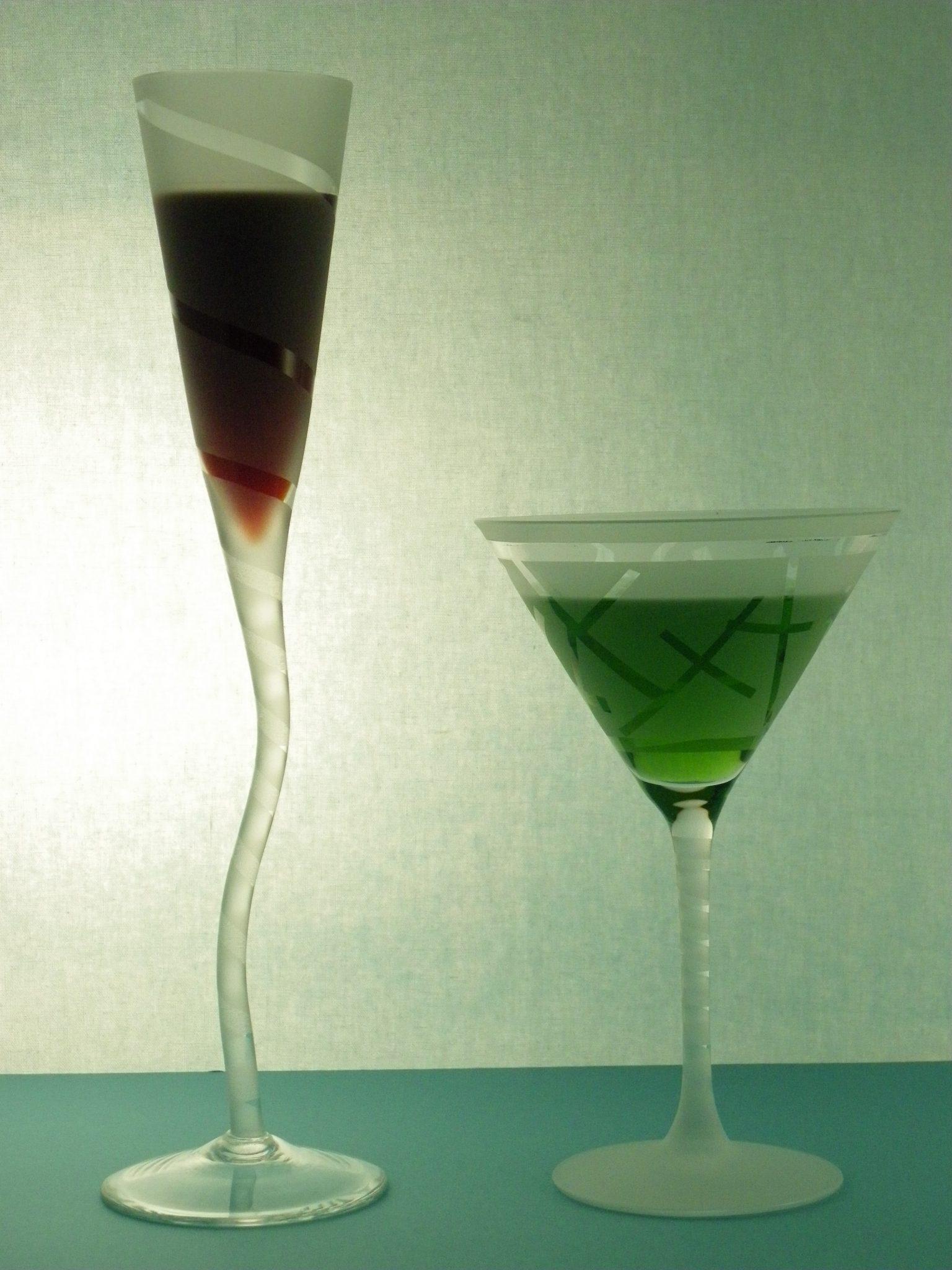 Texturizado de copas en laser.