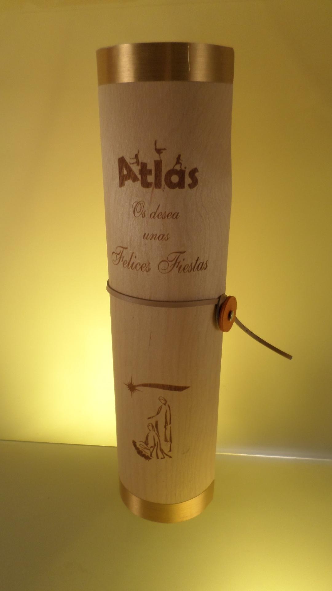 Botellero Madera Personalizado.