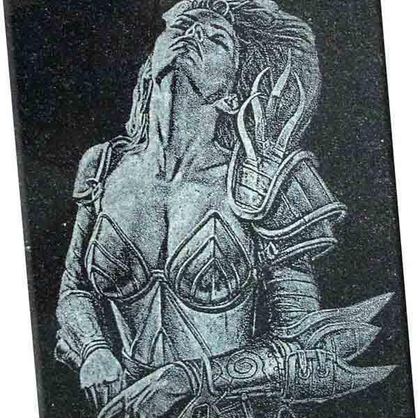 Grabado en laser para placas homenaje 12.